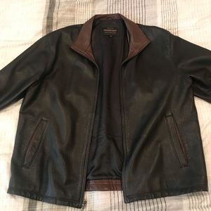 Golden Bear leather jacket